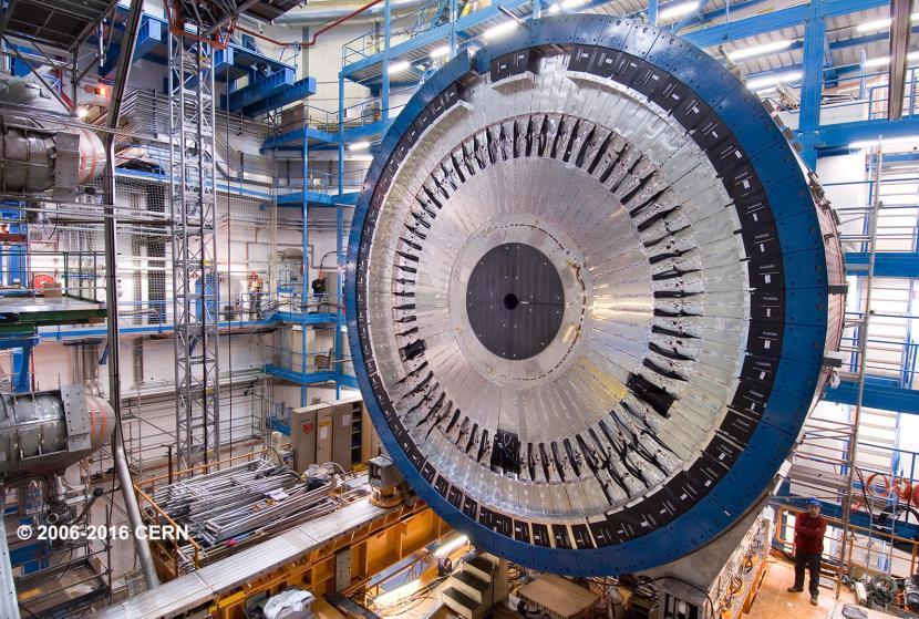 ATLAS machine at CERN