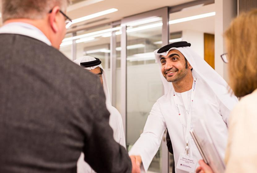 Open house celebration at the Center for Global Health Delivery-Dubai